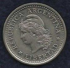 Buy Argentina 1 Peso 1957 Capped Liberty Head Coin