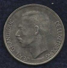 Buy Luxemburg 10 Francs 1972 Coin