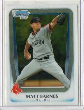 Buy 2011 Bowman Chrome Matt Barnes Rookie Card Boston Red Soxs