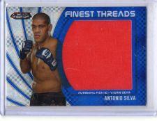 Buy 2012 Topps Finest Threads Antonio Silva Jumbo Fighter Worn Gear #D/188