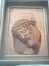 Buy jesus suffering charm, carving 3 dimension (old and historical)