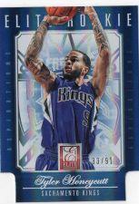 Buy 2012-13 Panini Elite Rookie Aspirations Tyler Honeycutt Sacramento Kings #D/91