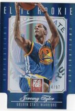 Buy 2012-13 Panini Elite Rookie Aspirations Jeremy Tyler #D/97 Golden State Warriors