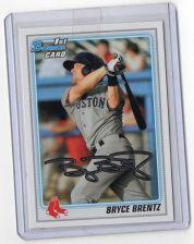 Buy 2011 Bowman Bryce Brentz Rookie Card Boston Red Sox