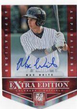 Buy 2012 Panini Elite Extra Edition Max White Aspirations Autograph #D/100 Rockies