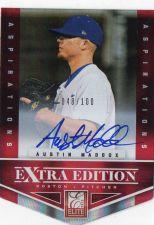 Buy 2012 Panini Elite Aspirations Austin Maddox Autograph #D/100 Boston Red Sox