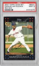 Buy 2007 Topps Team Set Daisuke Matsuzaka Rookie Card Graded PSA 9 Red Sox