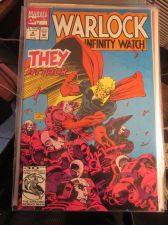 Buy Warlock and the infinity Watch #4 NM Marvel Comics Leonardi & Terry X-men Austin