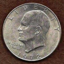 Buy US Eisenhower (Ike) Dollar Coin 1972 D