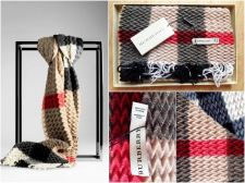 Buy CASHMERE BURBERRY SCARF NWT WAS 550$