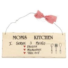 Buy Moms Kitchen Sign