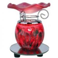 Buy Electric Red Oil Warmer on Mirror Base