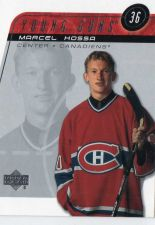 Buy 2002 Upper Deck Marcel Hossa Young Guns Montreal Canadiens