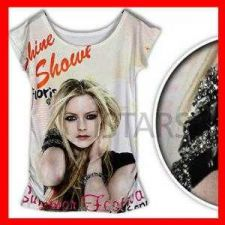 Buy HOLLYWOOD★ STAR★3D-SOLID CUBIC T-SHIRT BLOUSE #49 free shipping