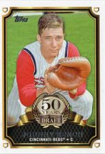 Buy 2014 Topps Johnny Bench 50 Years Of The Draft Insert Card