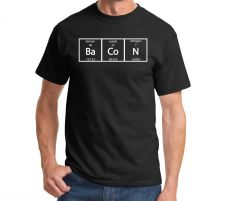 Buy Bacon Periodic Table Science Elements Funny Teacher Gag Gift T Shirt Meal Humor