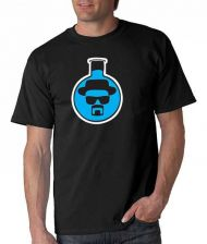 Buy Breaking Bad Beaker T- Shirt Heisenberg Walter White Los Pollos Hermanos D59++