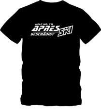 Buy Apre Ski T-Shirt T-Shirt Skifahren T- Shirt bis 5 XL Funshirt D59