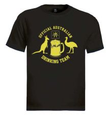 Buy Australian Drinking Team T-Shirt flag eureka new funny australia Aussie D59