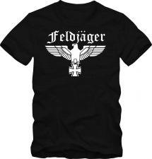 Buy Bundeswehr T-Shirt Wehrmacht Feldjäger T- Shirt bis 5 XL Funshirt D59