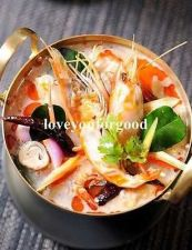 Buy new TOM YUM KOONG / PRAWN WITH HERB THAI FOOD RECIPE CUISINE SPICE HOT & SOUR