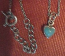 Buy Necklace with Southwestern Style Heart Pendant