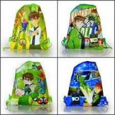 Buy 4pcs Ben10 Cartoon Drawstring Backpack School Bag #42 Free shipping