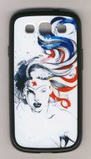 Buy Wonder Woman Samsung Galaxy S3 Case Cover - Hard Plastic, Soft Sides