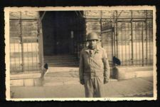 Buy VINTAGE ORIGINAL PHOTO BLACK AMERICAN ARMY SOLDIER WORLD WAR 2 FRANCE 4X5