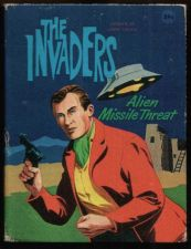 Buy THE INVADERS ALIEN MISSILE THREAT BIG LITTLE BOOK 1967 FINE CONDITION RARE