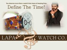 Buy Custom African-print leather watches