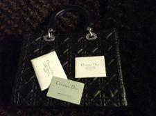 Buy Christian Dior 'Lady' Handbag