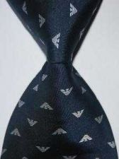 Buy Brand new silk black necktie #A51