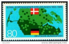 Buy Germany 1437 mnh DANISH BORDER & FLAGS