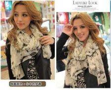 Buy New fashion korea style silk scarf #40 Free shipping