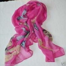 Buy Lady's Butterfly Scarf Long Shawl #49