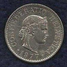 Buy Switzerland 10 Rappen 1977 Coin
