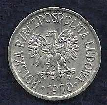 Buy Poland 5 Groszy 1970 Coin