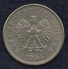 Buy Poland 1 Zloty 1994 Coin