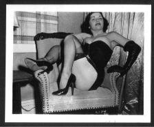 Buy MODEL ARLENE MAVER BOSOMY IN BLACK BUSTIER VINTAGE IRVING KLAW PHOTO 4X5 #2139