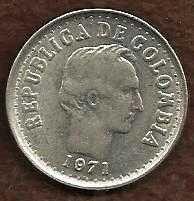 Buy Columbia 20 Centavos 1971