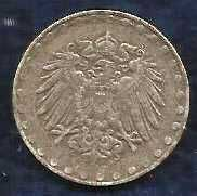 Buy 1916 A German Empire 10 Pfennig Imperial Eagle