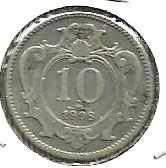 Buy Austria 10 Heller 1908 Coin - Nice Coin!