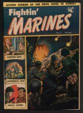 Buy FIGHTIN' MARINES #6 MATT BAKER COVER/ART WITH CANTEEN KATE 6/52 FINE