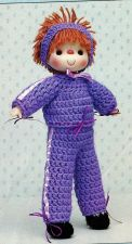 Buy Sweet Sarah & Her 6 Outfits Crochet PDF Pattern Digital Delivery