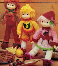 Buy 5x Cuti Pie Pal Dolls Crochet PDF Pattern Digital Delivery