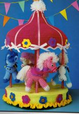 Buy Stunning Musical Horse Carrousel Crochet PDF Pattern Digital Delivery