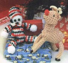 Buy Cuddles & Rudi Crochet PDF Pattern Digital Delivery