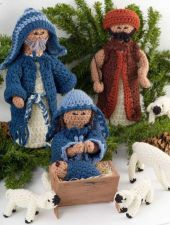 Buy Christmas Nativity Crochet PDF Pattern Digital Delivery