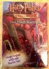 Buy SEALED HARRY POTTER TCG*2-PLAYER STARTER SET*MAGIC BEGINS WITH ONE STARTER SET